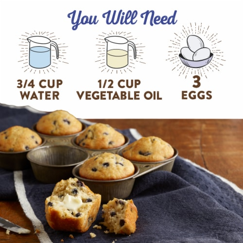 Krusteaz Protein Wild Blueberry Muffin Mix Perspective: right