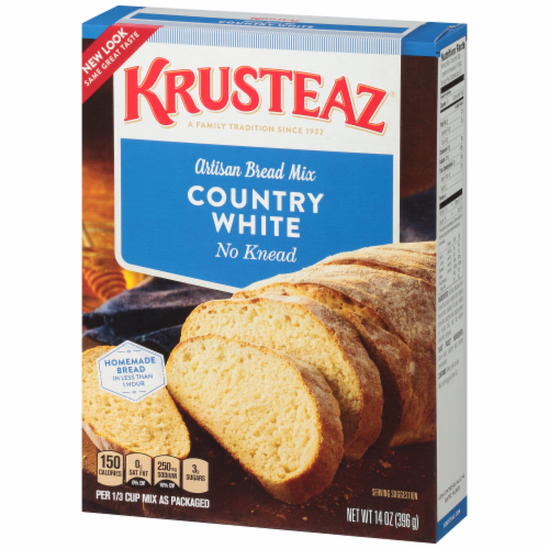 Krusteaz Country White Artisan Bread Mix Perspective: right