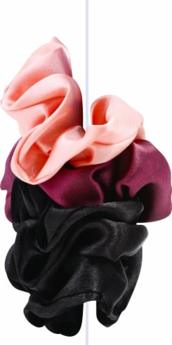 Goody Ouchless Satin Scrunchies Perspective: right