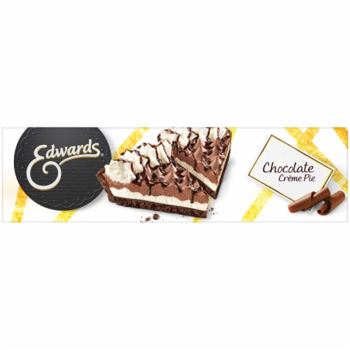 Edwards Hershey's Chocolate Creme Pie Singles Perspective: right
