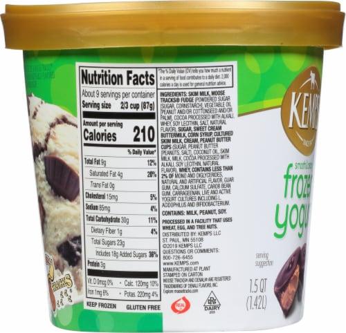 Kemps® Smooth & Creamy Denali Original Moose Tracks Frozen Yogurt Perspective: right