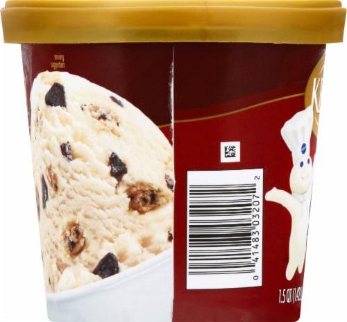 Kemps Chocolate Chip Pillsbury Cookie Dough Ice Cream Perspective: right