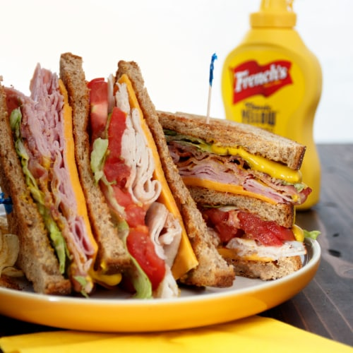 French's Classic Yellow Mustard Perspective: right