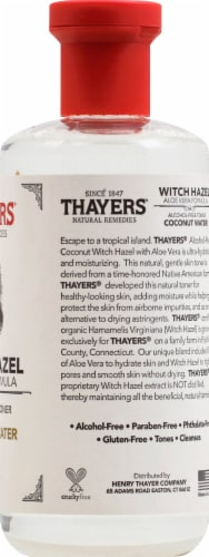 Thayers Coconut Water Witch Hazel Facial Toner Perspective: right