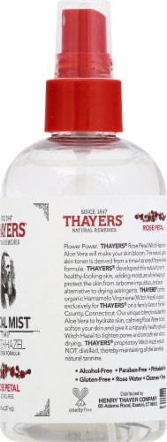 Thayers Rose Petal and Witch Hazel Facial Mist Perspective: right