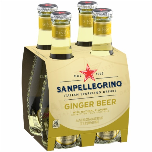 S. Pellegrino Ginger Beer Perspective: right
