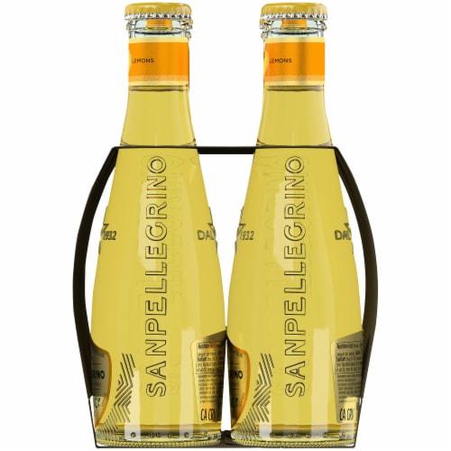 Sanpellegrino Organic Limonata Sparkling Lemon Beverage Perspective: right