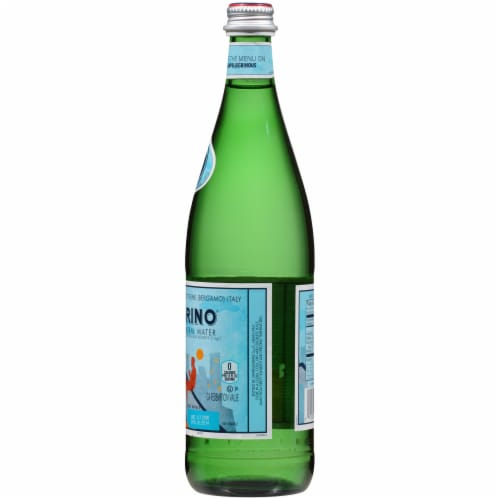San Pellegrino Sparkling Natural Mineral Water Perspective: right