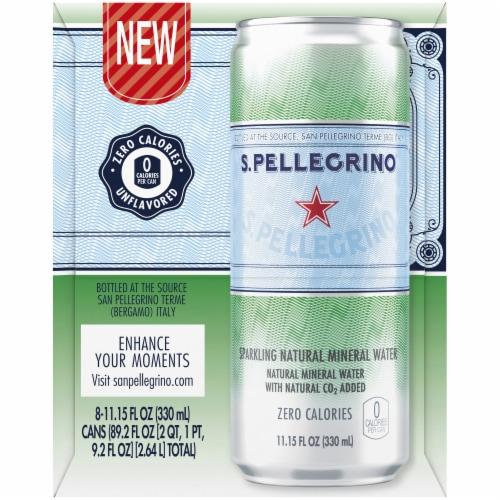 San Pellegrino  Original Sparkling Natural Mineral Water Perspective: right