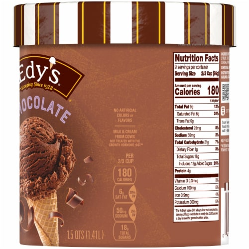Dreyer's/Edy's Chocolate Ice Cream Perspective: right