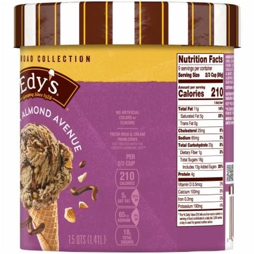 Dreyer's/Edy's Mocha Almond Avenue Fudge Ice Cream Perspective: right