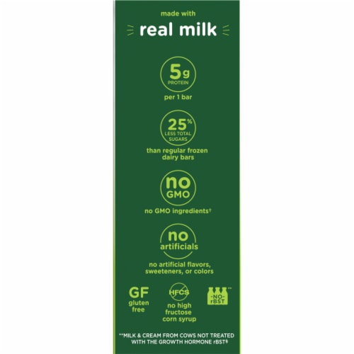 Outshine Simply Indulgent Creamy Chocolate Dairy Bars Perspective: right
