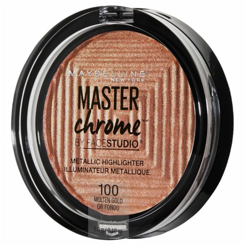 Maybelline Master Studio Chrome - Molten Gold Perspective: right