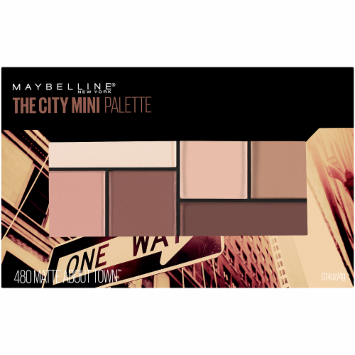 Maybelline The City Mini 480 Matte About Town Eyeshadow Palette Perspective: right