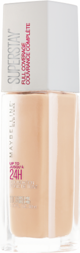 Maybelline Superstay 24-Hour Full Coverage 110 Porcelain Foundation Perspective: right