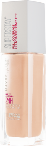 Maybelline Superstay Natural Ivory Full Coverage Liquid Foundation Perspective: right