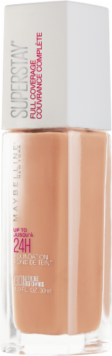 Maybelline Superstay 130 Buff Beige 24-Hour Full Coverage Liquid Foundation Perspective: right