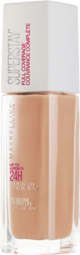 Maybelline Superstay 24-Hour Full Coverage 310 Sun Beige Liquid Foundation Perspective: right