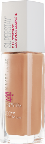 Maybelline Superstay 24-Hour Full Coverage 320 Honey Liquid Foundation Perspective: right