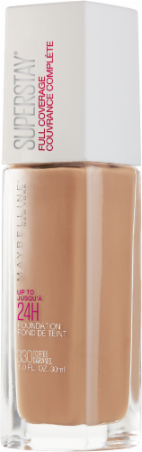 Maybelline Superstay 330 Toffee Caramel Full Coverage Liquid Foundation Perspective: right