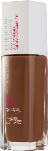 Maybelline Superstay 355 Coconut Full Coverage Liquid Foundation Perspective: right