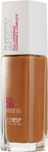 Maybelline Superstay Warm Coconut Full Coverage Liquid Foundation Perspective: right