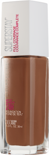 Maybelline Superstay Mocha Full Coverage Liquid Foundation Perspective: right