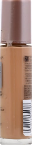 Maybelline Dream Radiant Liquid Medium Coverage 20 Classic Ivory Hydrating Foundation Perspective: right