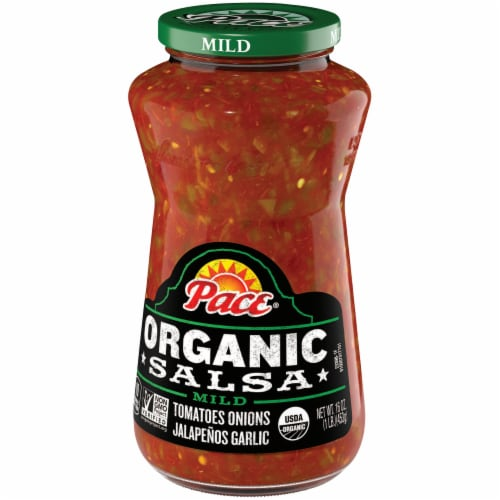 Pace Organic Mild Salsa Perspective: right