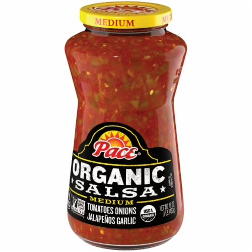 Pace Organic Medium Salsa Perspective: right