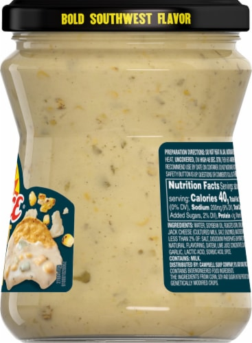 Pace Street Style Corn Mild Queso Dip Perspective: right