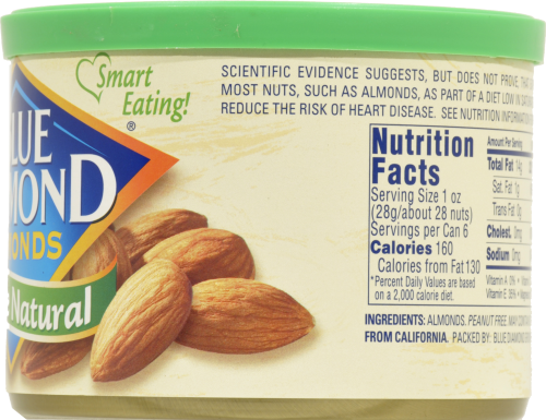 Blue Diamond® Whole Natural Almonds Perspective: right