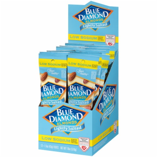 Blue Diamond Lightly Salted Almonds Perspective: right