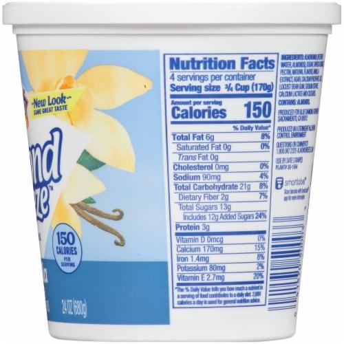 Blue Diamond Almond Breeze Vanilla Almondmilk Yogurt Alternative Perspective: right