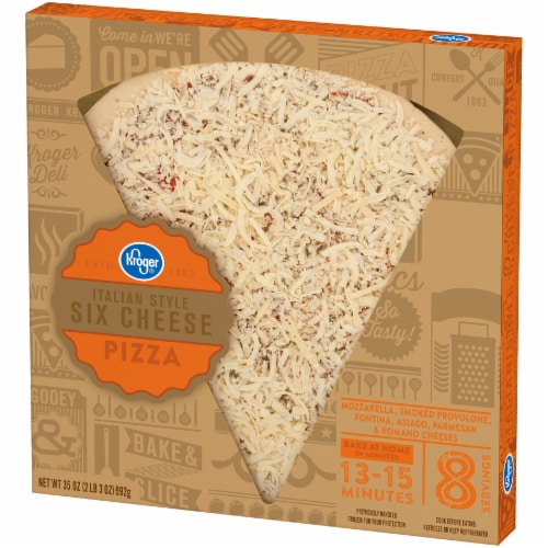 Kroger® Italian Style Six Cheese Pizza Perspective: right
