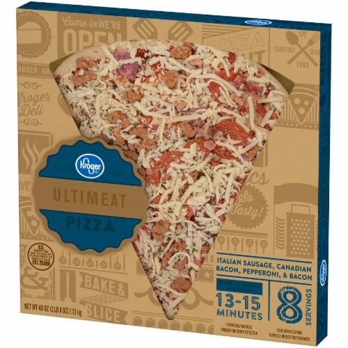 Kroger® Ultimeat Pizza Perspective: right
