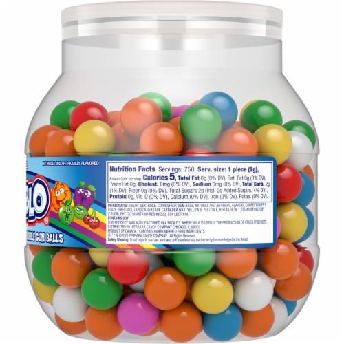 Rain-Blo Bubble Gum Balls Assorted Perspective: right