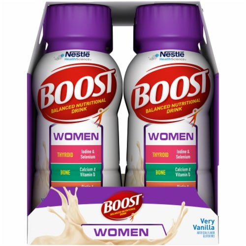 Boost Calorie Smart Vanilla Delight Nutritional Drink Perspective: right