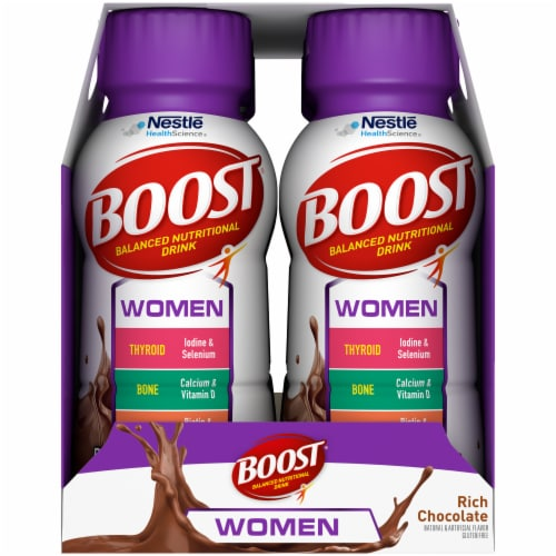 Boost Women's Rich Chocolate Nutritional Drink Perspective: right