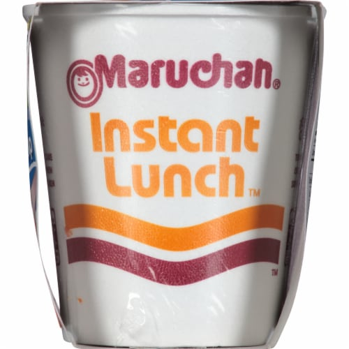 Maruchan Instant Lunch Lime Flavor with Shrimp Ramen Noodle Soup Perspective: right