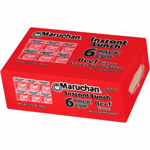 Maruchan Beef Instant Lunch Perspective: right