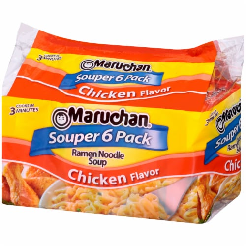 Maruchan Chicken Flavor Ramen Noodle Soup Perspective: right