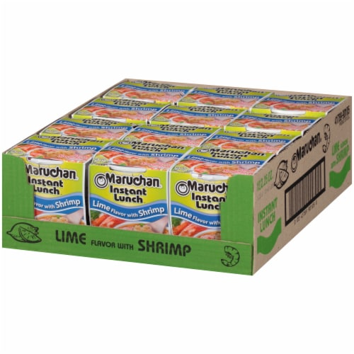 Maruchan® Instant Lunch™ Lime Flavor with Shrimp Ramen Noodle Soup Perspective: right