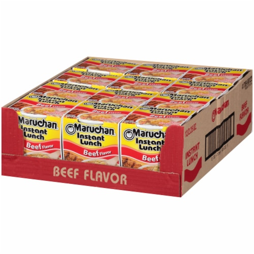 Maruchan® Instant Lunch™ Beef Ramen Noodle Soup Perspective: right