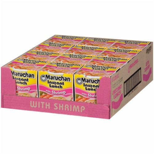 Maruchan® Instant Lunch™ Shrimp Flavor Ramen Noodle Soup Perspective: right