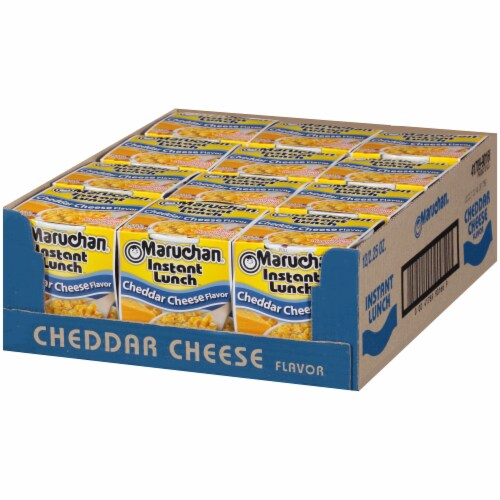 Maruchan® Instant Lunch™ Cheddar Cheese Flavor Ramen Noodle Soup Perspective: right