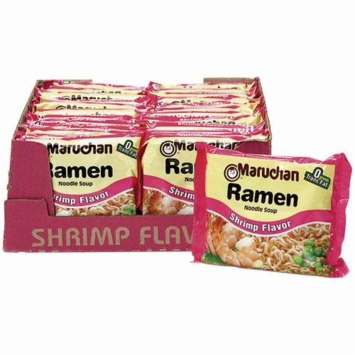 Maruchan Shrimp Ramen Noodle Soup Perspective: right