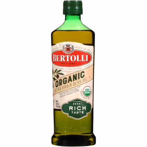 Bertolli Organic Rich Taste Extra Virgin Olive Oil Perspective: right