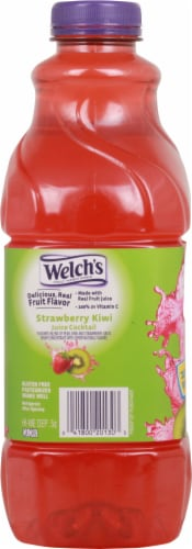Welch's Strawberry Kiwi Juice Cocktail Perspective: right