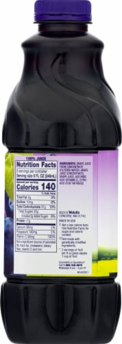 Welch's 100% Concord Grape Juice Perspective: right